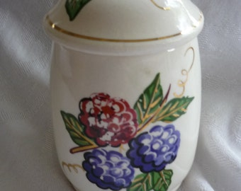 Knotts Berry Farm Sugar Bowl with Lid