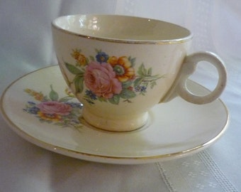 Sweet Taylor Smith and Taylor Tea Cup and Saucer