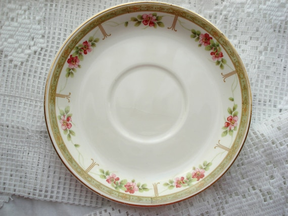Vintage Johnson Brothers Plate Shabby Cottage Chic