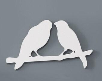 Lovebirds - White