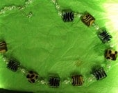 safari time with zebra leapord and tiger beads by thepresidentspalace