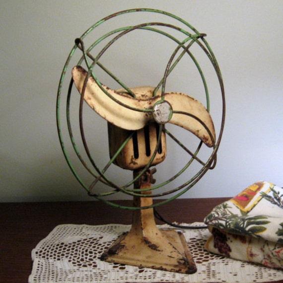 Captivating ... Vintage Table Fan