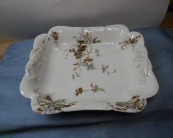 Haviland Depose Limoges Rectangle Dish, Made in 1887