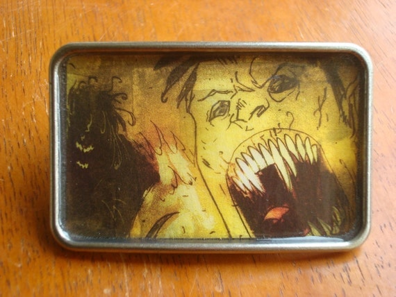 Belt Buckle - Zombies Attack