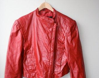 Thriller leather jacket