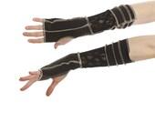 Black Lace Elvin Gloves