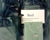 Fresh Basil Handcrafted Soap