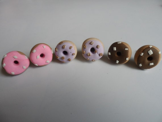 Dinky Donut Earrings