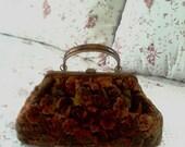 Vintage JR Usa Carpet/Tapestry Bag