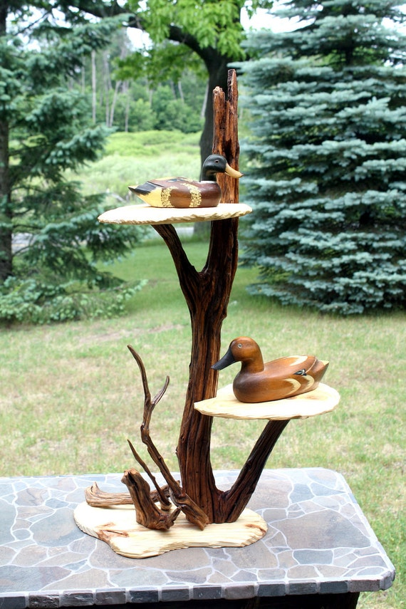 Tabletop display shelves : Shelf natural display table by berlinglass on etsy