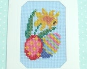 Greetings Card - Cross stitch