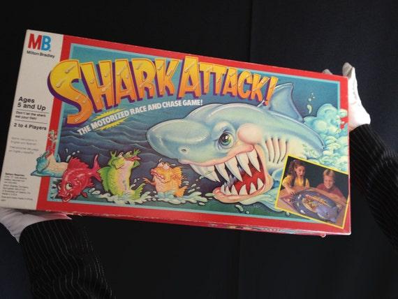 Shark Attack Board Game 1980s