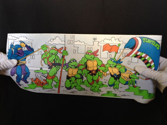 Teenage Mutant Ninja Turtles Vinyl Wall Paper Border
