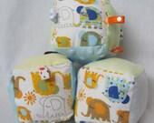 Baby Soft Block Toy - Elephant