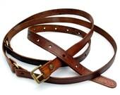 Thin belt double wrap