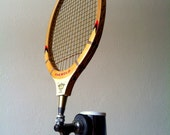 Repurposed Tennis Racquet Beer Keg Tap Handle