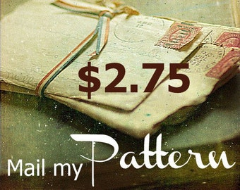 Add-on to get  your Pattern Pieces by mail