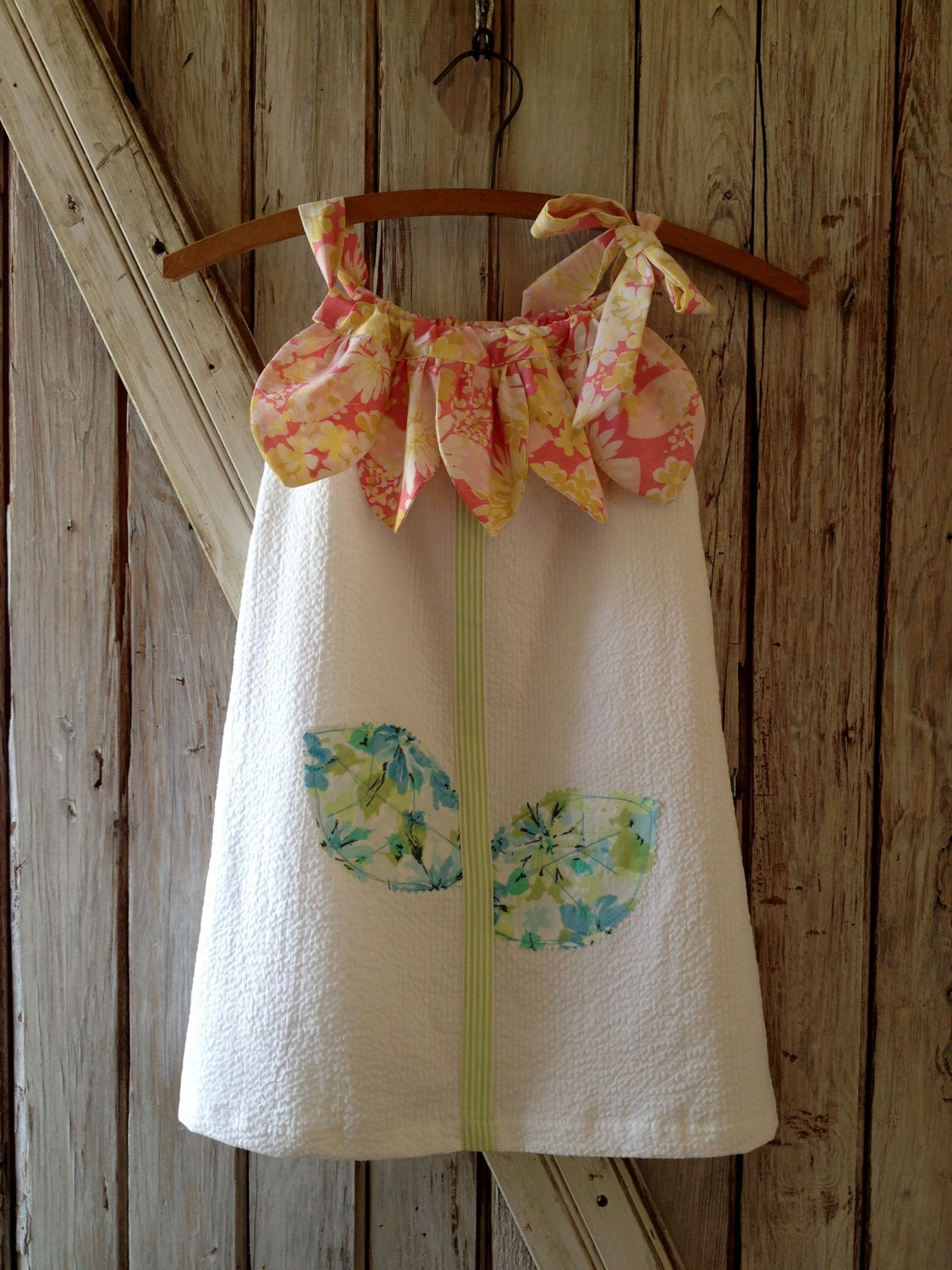Sunny Flower Pillowcase Dress Pattern Tutorial Girl S