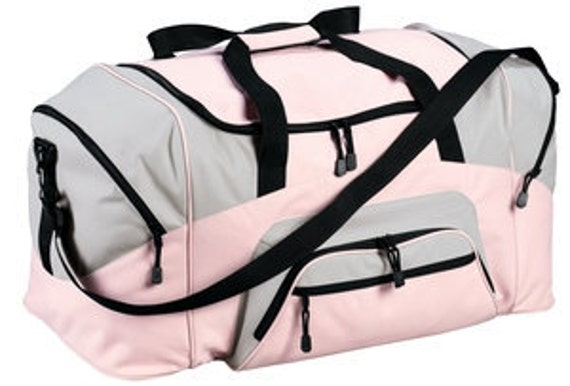 Economical practical duffle great for dance bags or sports bags or gym bags or teams