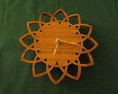 Fretwork Sun Clock