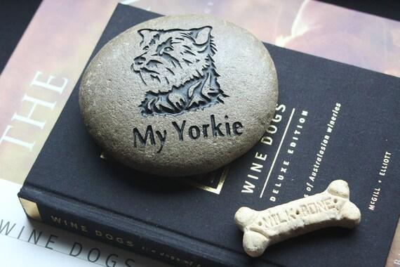 My Yorkie Engraved Stone