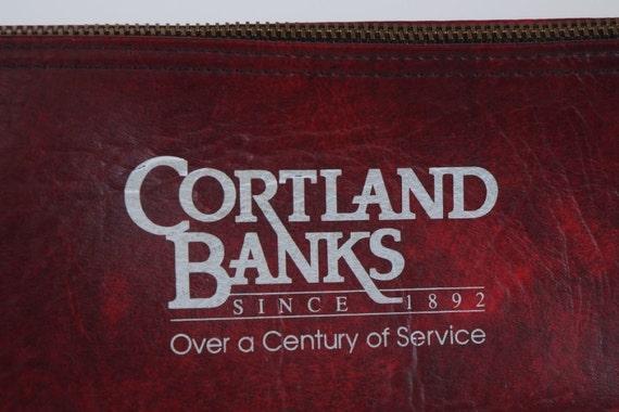 Cortland Banks Money Bag Ohio Oh