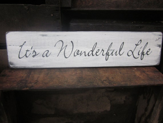 Items Similar To It's A Wonderful Life