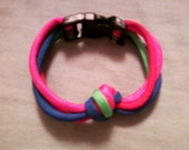 Multi-Colored Paracord Knot Bracelet