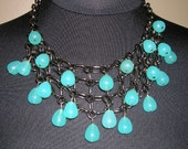 Blue Sunday Gemstone Necklace - 20% off