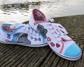 Me to You Bear Tatty Teddy Canvas Shoes
