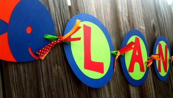 Little Fish Banner - Fishing Birthday Party - Fish Baby Shower - Baby Announcement