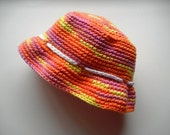 Baby Sun Hat Candy Colors 6-12 months