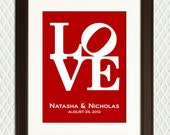 Valentines Day Gift for her - Unique Gift Idea -  Love - for Girlfriend, Boyfriend, Wife or Husband - Or for an engagement, anniversary