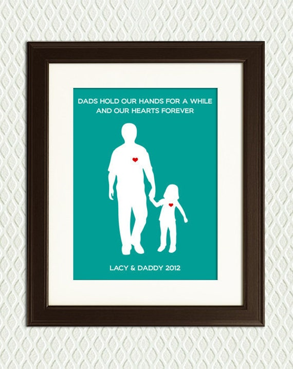 personalized gift for dad father and by myplaceintheworld