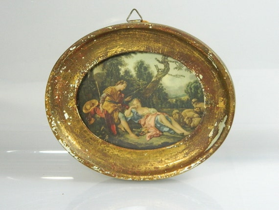 Reserve for Jena Vintage Italian Art Florentina by Exclusively Yours