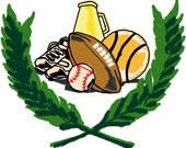 Football 2 Embroidery Design