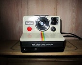Polaroid camera rainbow