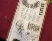 Tim Holtz Visual Artistry Artful Things Stamp Set