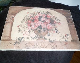 Sale Roses on canvas art