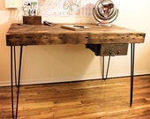 Reclaimed Wood Desk - Made to Order