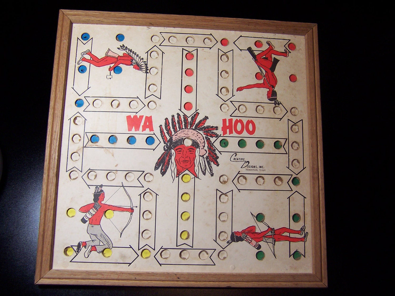 KK14 WAHOO WA HOO BOARD GAME  20 x 20 inch 6 player with images