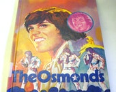 Rare 1976 Hardcover Book The Osmonds Like New First Edition