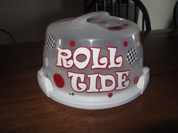 Items Similar To Alabama Round Wilton Cake Carrier On Etsy