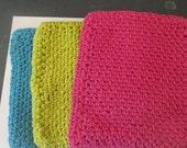 Crochet Potholders-Set of three