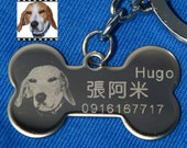 Personalized Dog Tag (Made from the photo you send)