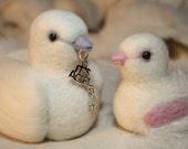New baby gift  Its a girl  mother and baby dove