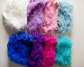 Ruffle Bloomers - pick your color -  FRONT & BACK chiffon ruffles - diaper cover