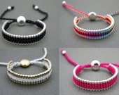 Forever Friends - Link Friendship Bracelet - Choose 2 Colors  - New Colors  (One Direction)