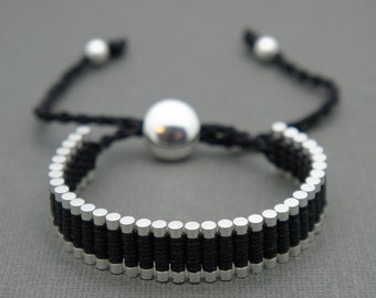 Link Friendship Bracelet - Black (One Direction) - ON SALE