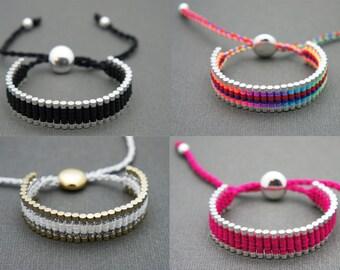 Forever Friends - Link Friendship Bracelet - Choose 2 Colors  - New Colors  (One Direction)